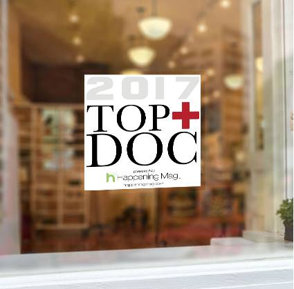 top doctor window cling